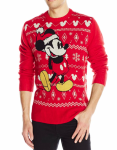 Disney Men's Mickey Mouse Ugly Christmas Sweater picture image