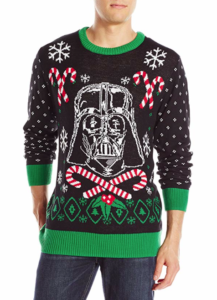 Star Wars Men's Darth Vader Holiday Sweater picture image