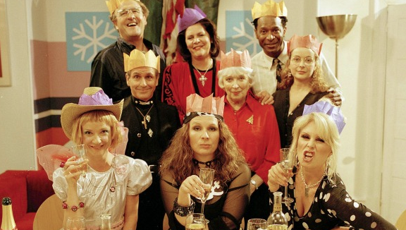 Ab Fab Cast Cold Turkey picture image