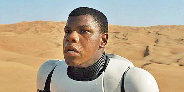John Boyega as Finn, Star Wars; The Force Awakens picture image