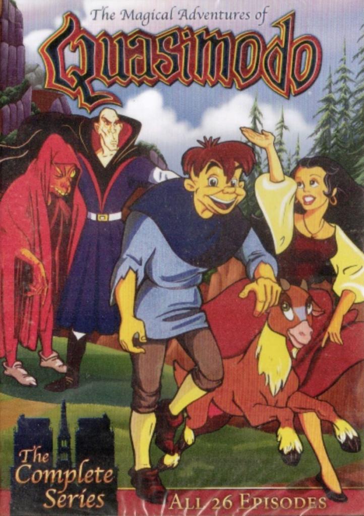 The Magical Adventures of Quasimodo cover art picture iamge