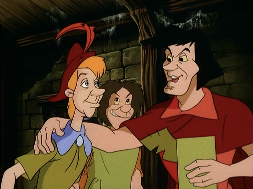François and some thieves, The Magical Adventures of Quasimodo Episode 7, The Court of Miracles